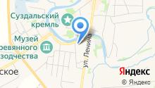Пушкарская слобода на карте