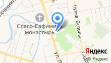 Art Hotel Николаевский посад на карте