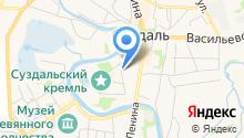 Центр народного творчества г. Суздаля на карте