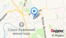 Алёнушкин теремок на карте