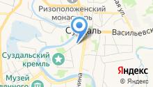 Детская школа искусств им. Фирсовой В.М. на карте