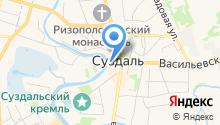 Мировые судьи г. Суздаля и Суздальского района на карте