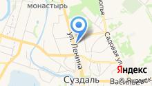 Центр культуры и досуга г. Суздаля на карте