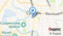 Центр дополнительного образования детей Суздальского района на карте