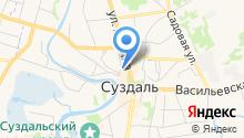 ОМВД России по Суздальскому району на карте