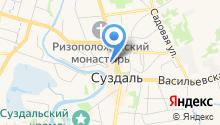Отдел ГИБДД по Суздальскому району на карте