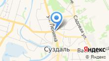 Лавка купца Денисова на карте