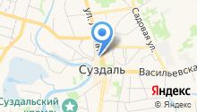 Суздальская межрайонная прокуратура Владимирской области на карте