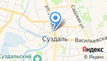 Отделение МВД России по Суздальскому району на карте