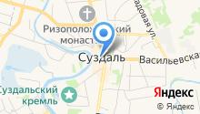 Казанская церковь на карте