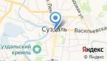 Воскресная церковь на карте