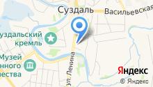 У кремля на карте