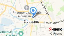 Районный организационно-методический центр г. Суздаля на карте