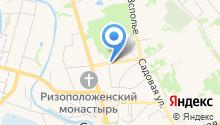 Центр копировальных услуг на карте
