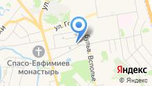 Гостевой дом на Шаховского на карте