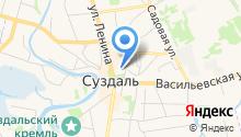 Цареконстантиновская церковь на карте