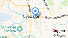 Центр занятости населения г. Суздаль на карте