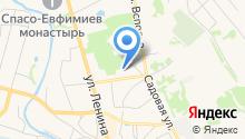 Суздальская городская дезинфекционная профилактика на карте