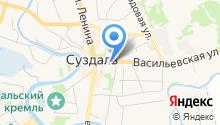 Ризоположенская община на Васильевской на карте