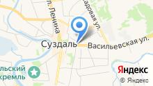 Суздальская православная гимназия, НОУ на карте