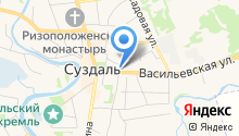 Суздальская православная гимназия на карте
