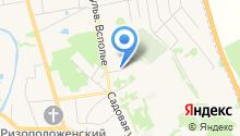 На Всполье на карте