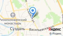 Валентайн на карте