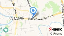 Массажный салон на Васильевской на карте