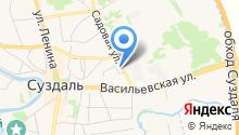 На Садовой на карте