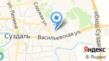 Суздальская кондитерская фабрика на карте