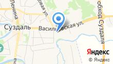 Свято-Васильевский мужской епархиальный монастырь на карте