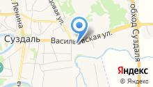 В Васильевском монастыре на карте