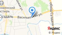 Ямской двор на карте