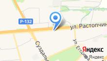 Автовид на карте