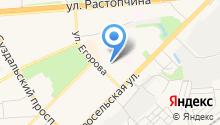 Аварийно-диспетчерская служба Фрунзенского района на карте