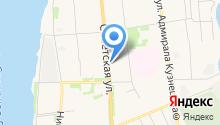 Сеть ритуальных агентств на карте
