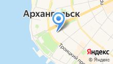 Департамент муниципального имущества Мэрии г. Архангельска на карте