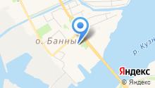 Лидент на карте