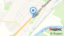 ГЛОНАСС на карте