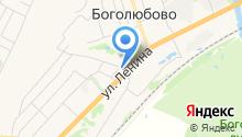 Боголюбовская поселковая библиотека на карте