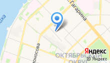 Баня-сауна на Карельской на карте