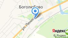 Храм Боголюбской иконы Божией Матери на карте