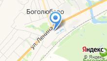 Богородице-Рождественский собор, Свято-Боголюбский женский монастырь на карте