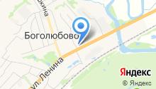СНТ им. 800-летия на карте