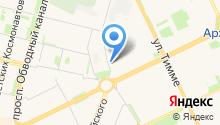 Архангельский социально-реабилитационный центр для несовершеннолетних на карте