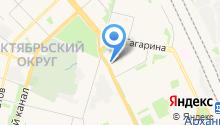 Навигатор-Дизайн на карте