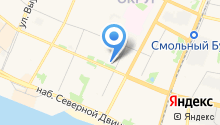 Администрация Ломоносовского территориального округа на карте