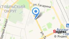 Помор Лайн, ЗАО на карте