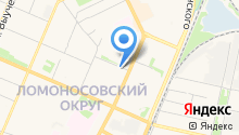 HILST-Архангельск на карте