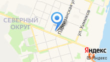 5D аттракцион на карте